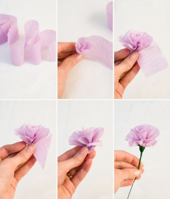 Do it yourself tissue paper flower the tornado times this week you will learn how to make a tissue paper flower bouquet mightylinksfo