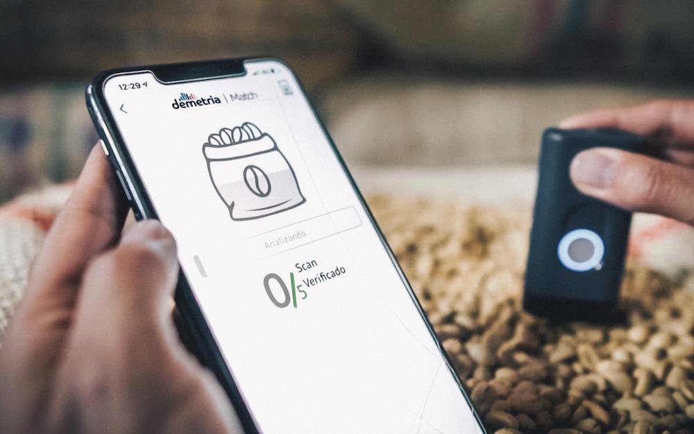 demetria green coffee app