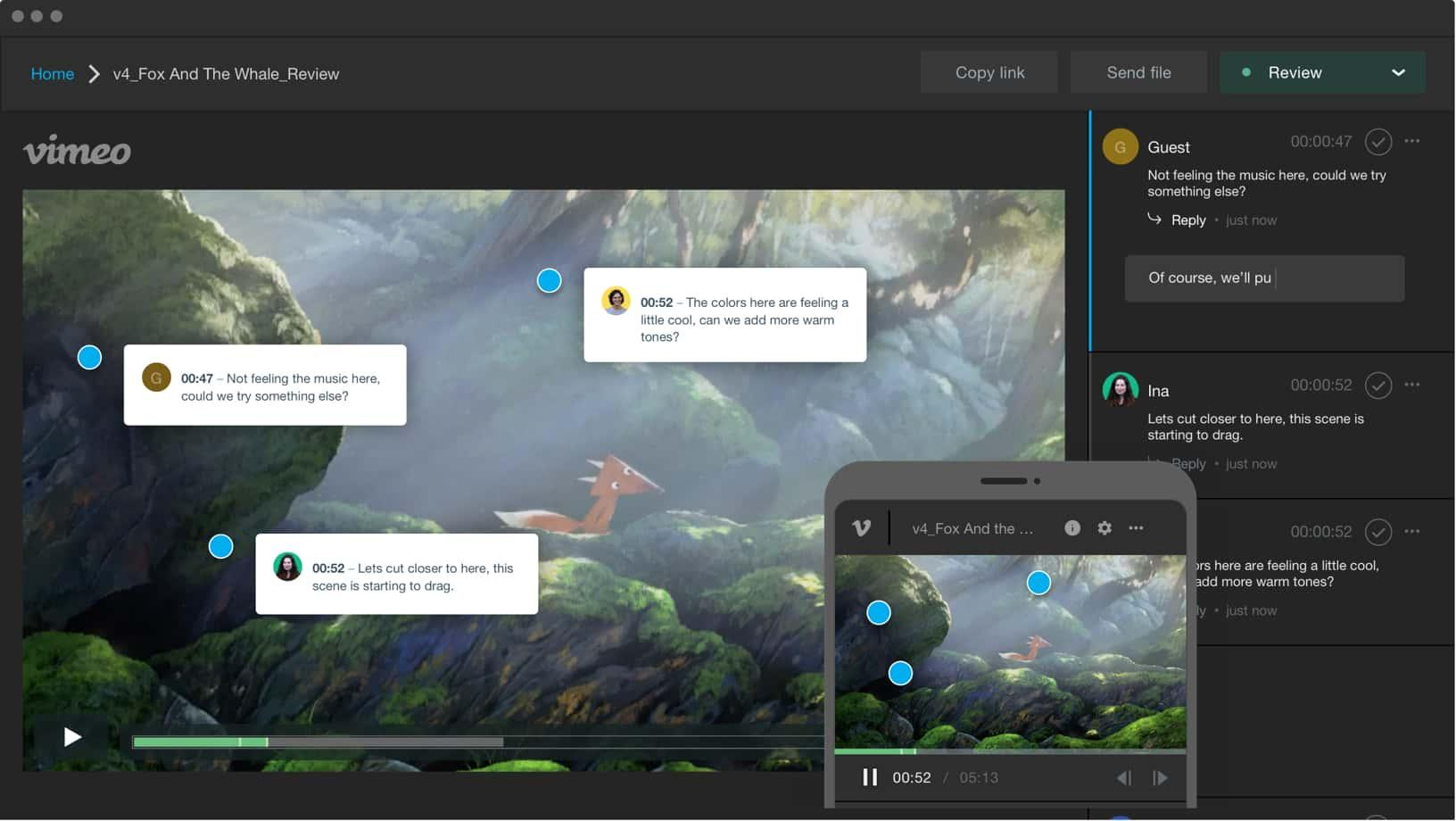 Vimeo collaboration