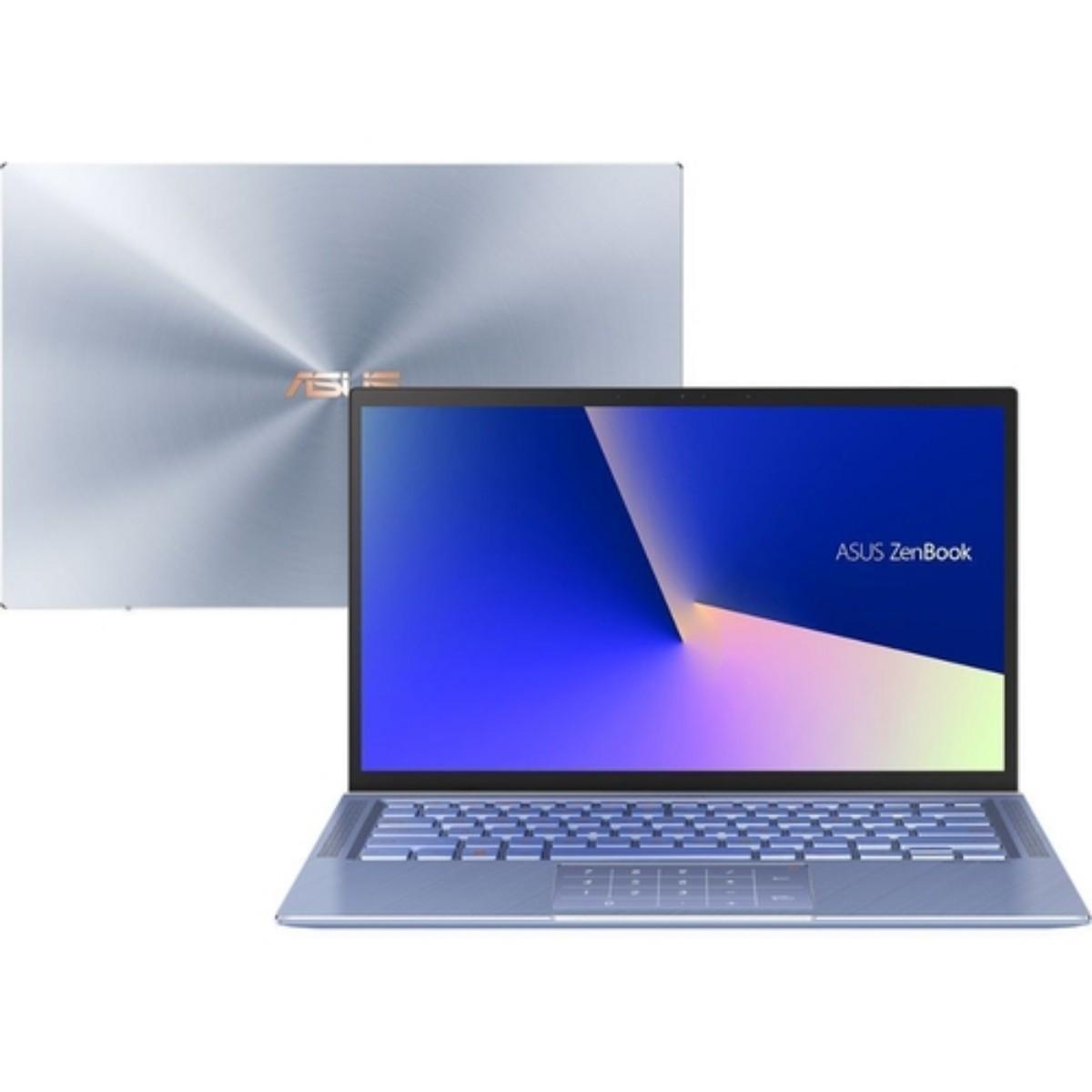 Imagem do notebook modelo Asus Zenbook 14