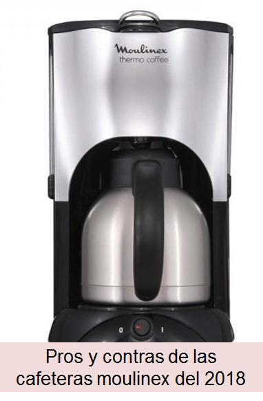 1.2 Litros Moulinex Subito FG362810 Cafetera De Goteo Negro 1000 W Acero Inoxidable