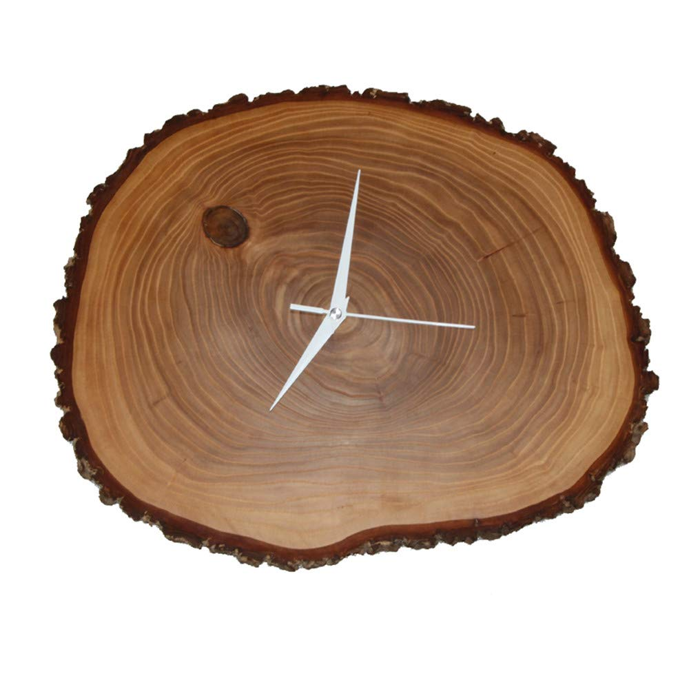 Wooden Puck Wall Clock