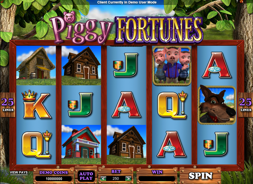 Piggy Fortunes Slots Game Review