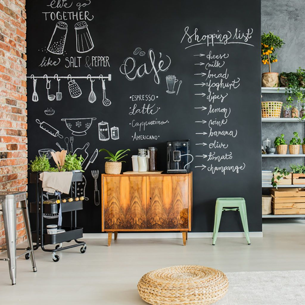 Chalkboard Wall Decor Ideas