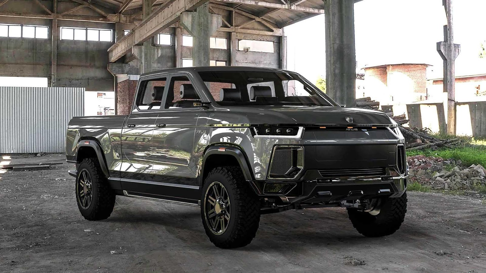 Rivian R1T Is A Real Electric Pickup Truck, But Atlis XT Is Not