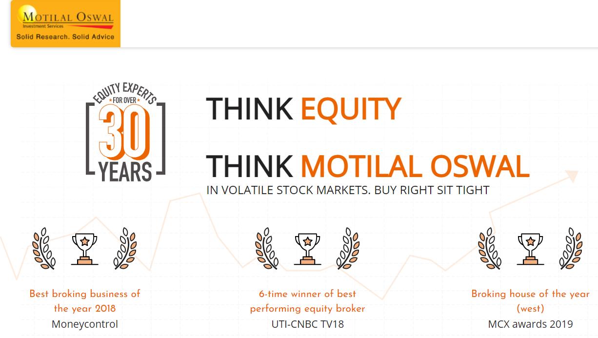 Motilal Oswal Brokerage Plan