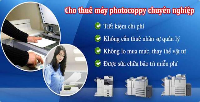 Dịch vụ cho thuê máy photocopy quận Tân Bình ở đơn vị Linh Dương