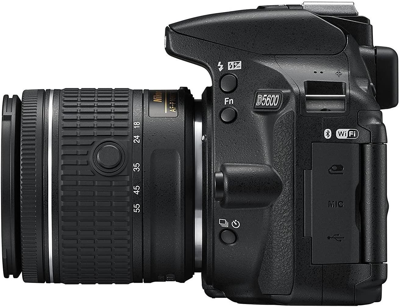 Refurbished Nikon D5600 With 18-55mm Lens