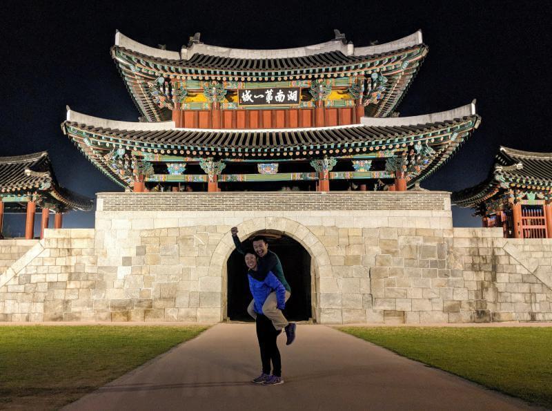 Pungammum Gate in Jeonju, South Korea