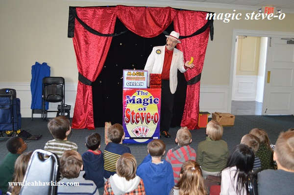 magic show with steve-o