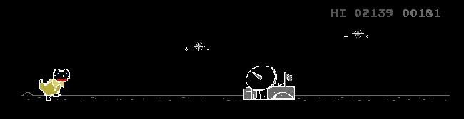 Endless runner game on GameStop's landing page. Source: GameStop NFT.