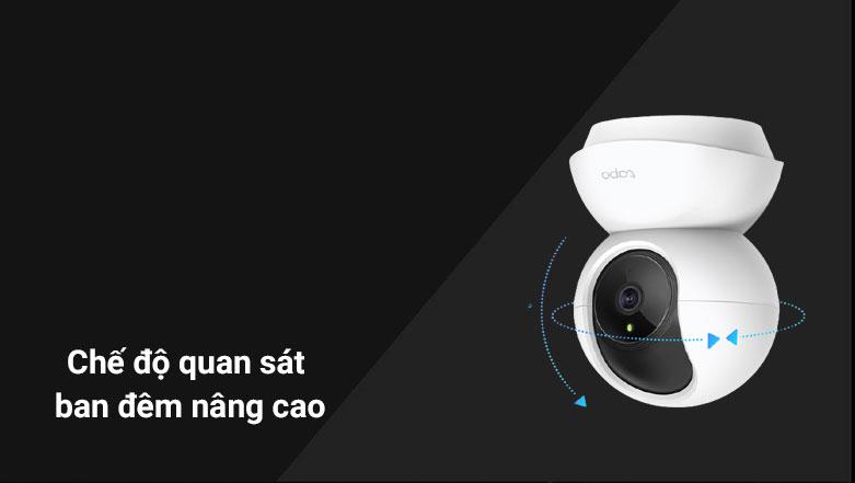 Thiết bị quan sát/ Camera Tapo TC70 | Chế độ quan sát ban đêm