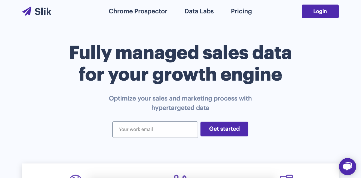 Slik's prospector tool allows users to browse its 70 million user database to build mailing lists