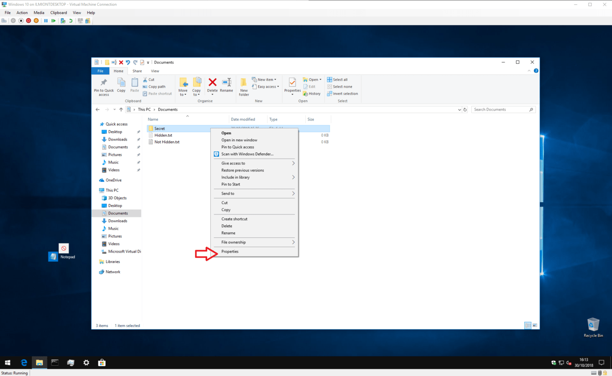 How To Hide And Show Folder In Windows 10