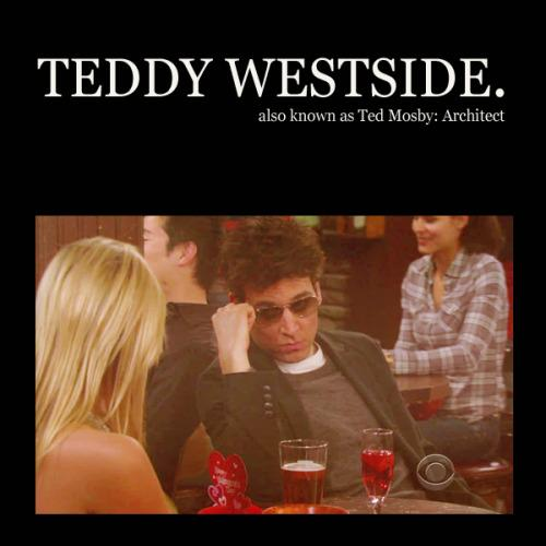 Teddy Westside, Teddy, HIMYM, How I Met Your Mother, Fall, Fall In LOVE, Love, Ted Mosby, the protagonist