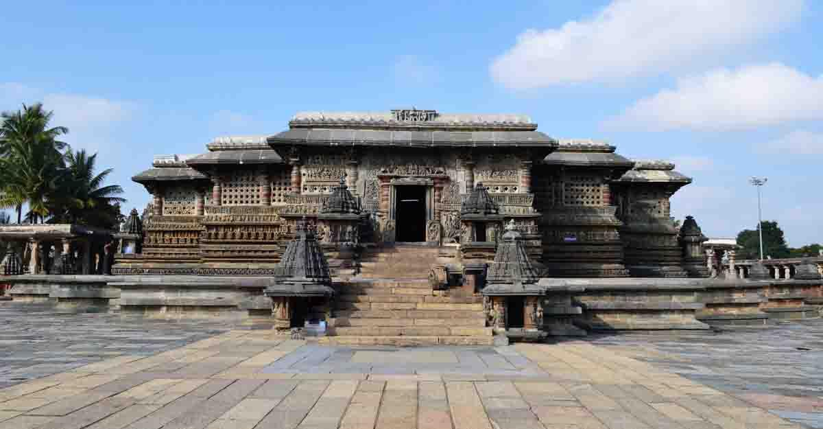 The Chennakesava Temple in Belur, Karnataka
