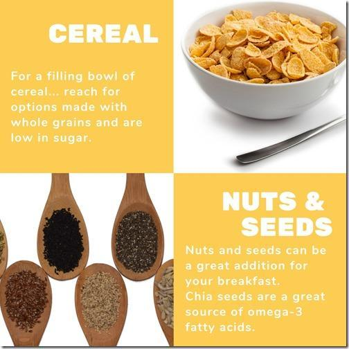 how to make a healthy bowl of cereal