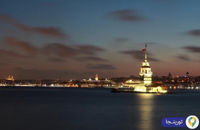 برج میدن استانبول