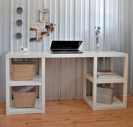 Planos de escritorio de computadora: plan de escritorio de bricolaje Parson Tower