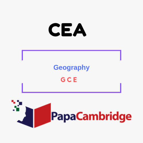 Geography General Certificate of Education PPT Slides