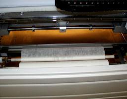 Exemple d'utilisation de rouleau papier