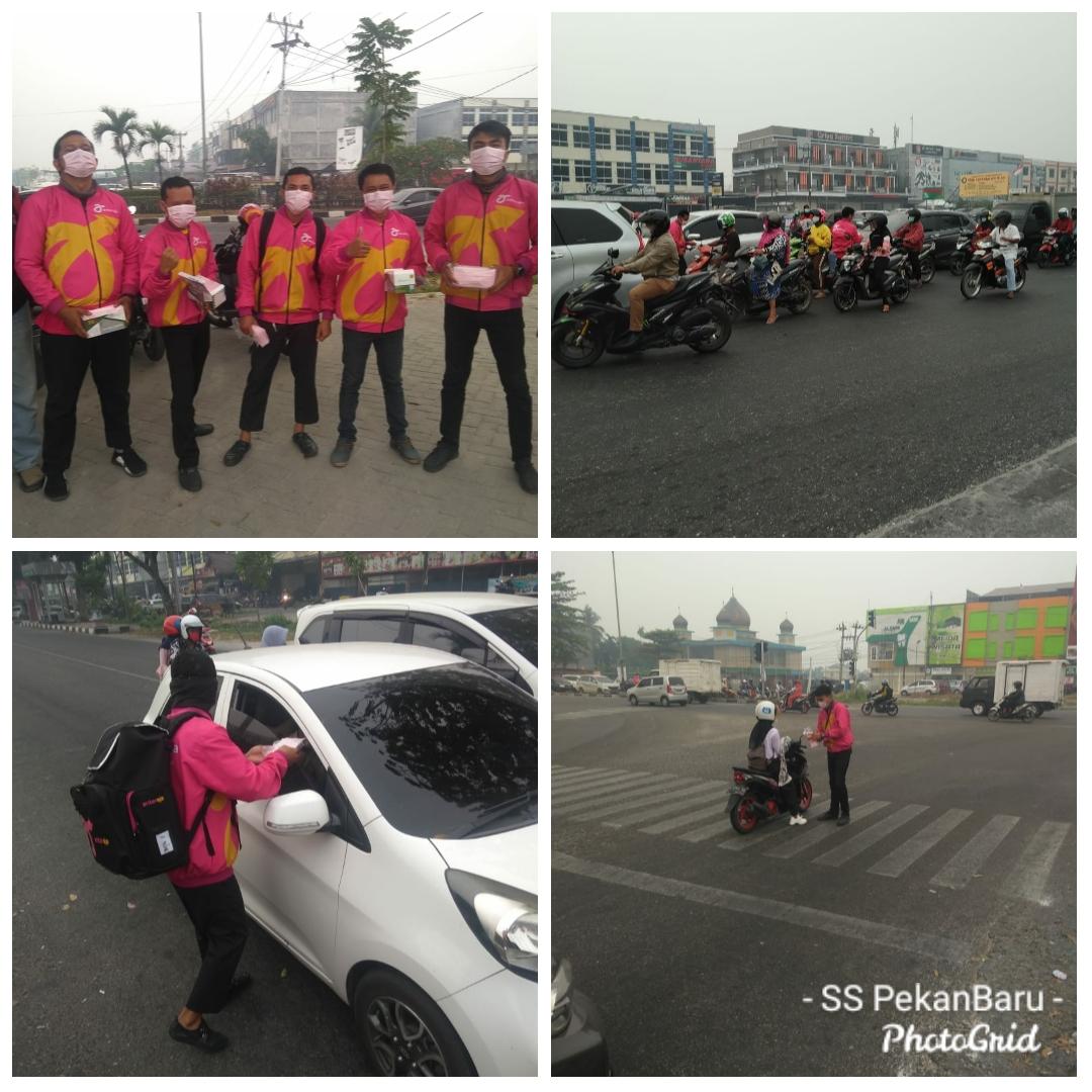 Anteraja Sumatera Team Melawan Asap