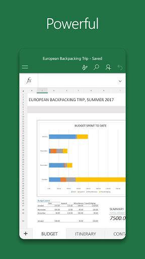 Microsoft Excel- screenshot thumbnail