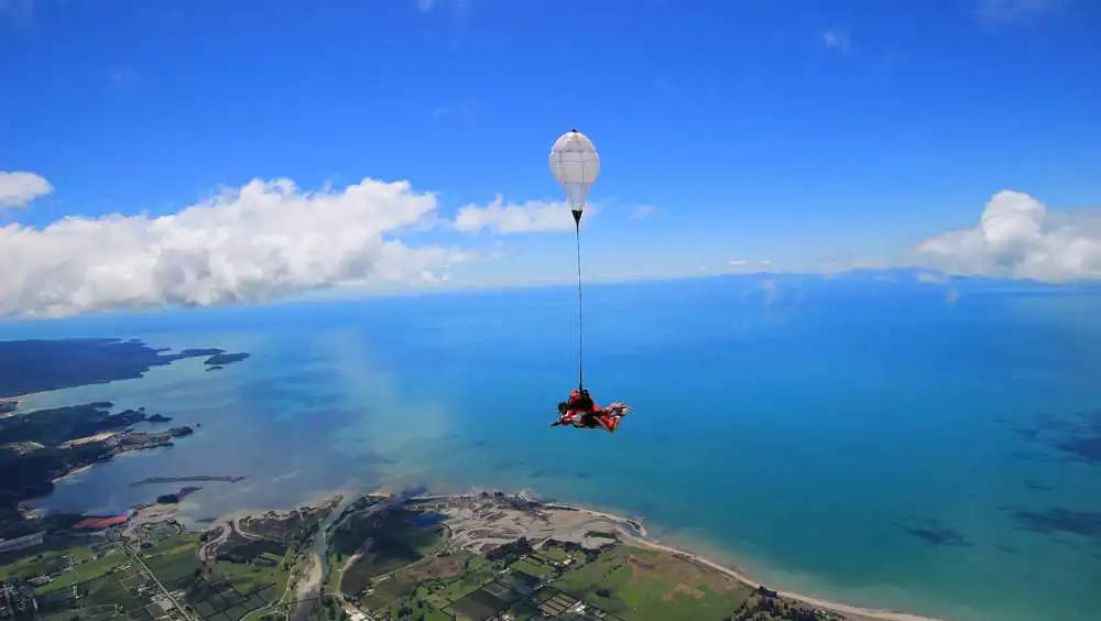 Abel Tasman - Skydiving Taupo