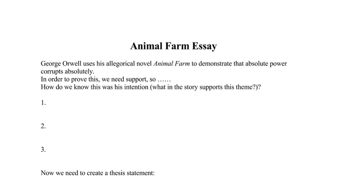 essay writing animal farm power corrupts but absolute power corrupts absolutely Best essay writing service available animal farm essay questions absolute power corrupts absolutely animal farm.
