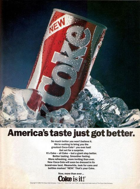 a picture of new coke