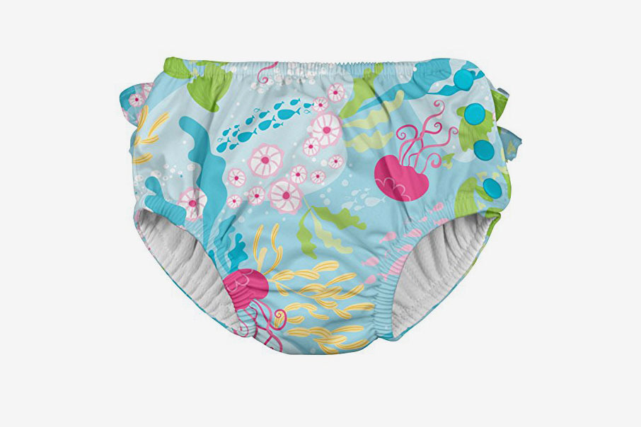 I Play Ruffle Snap Reusable Absorbent Swimsuit Diaper