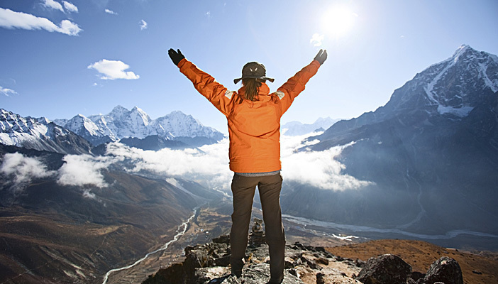 Feel and Enjoy the Everest