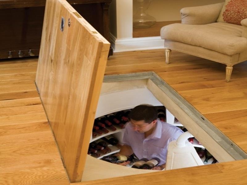 lưu ý khi thiết kế hầm rượu vang