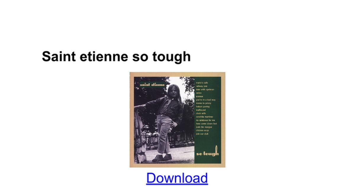 Saint Etienne Discography