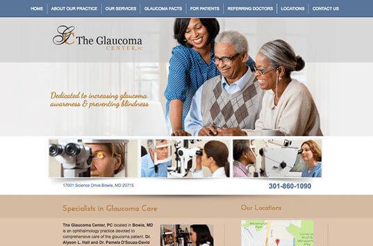 Medical Website Design - View Examples of Healthcare Practice Websites
