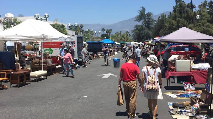 PCC Flea Market vendors