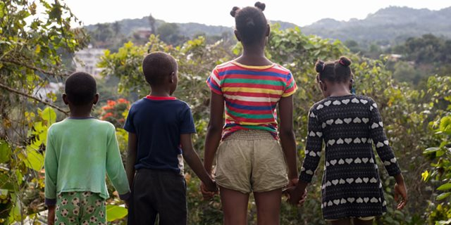 Children in Uganda