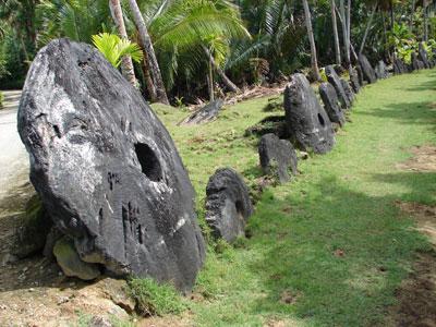 Yap stones