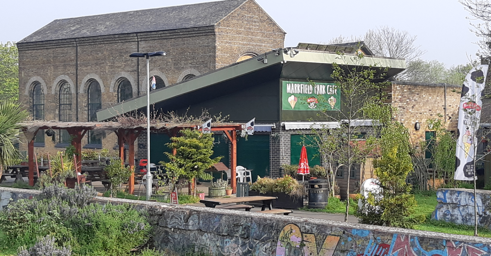 Parks in London - Markfield