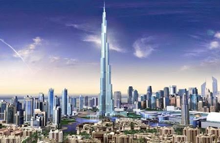 Tòa tháp cao chọc trời ở Dubai