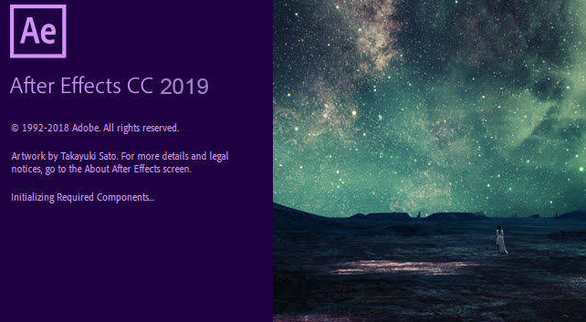 Adobe CC 2019 Full Crack có Adobe After Effects CC 2019