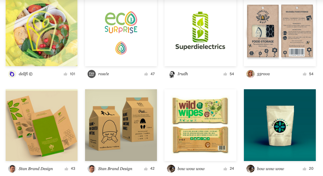 Branding for ecofriendly, green, and environmental companies