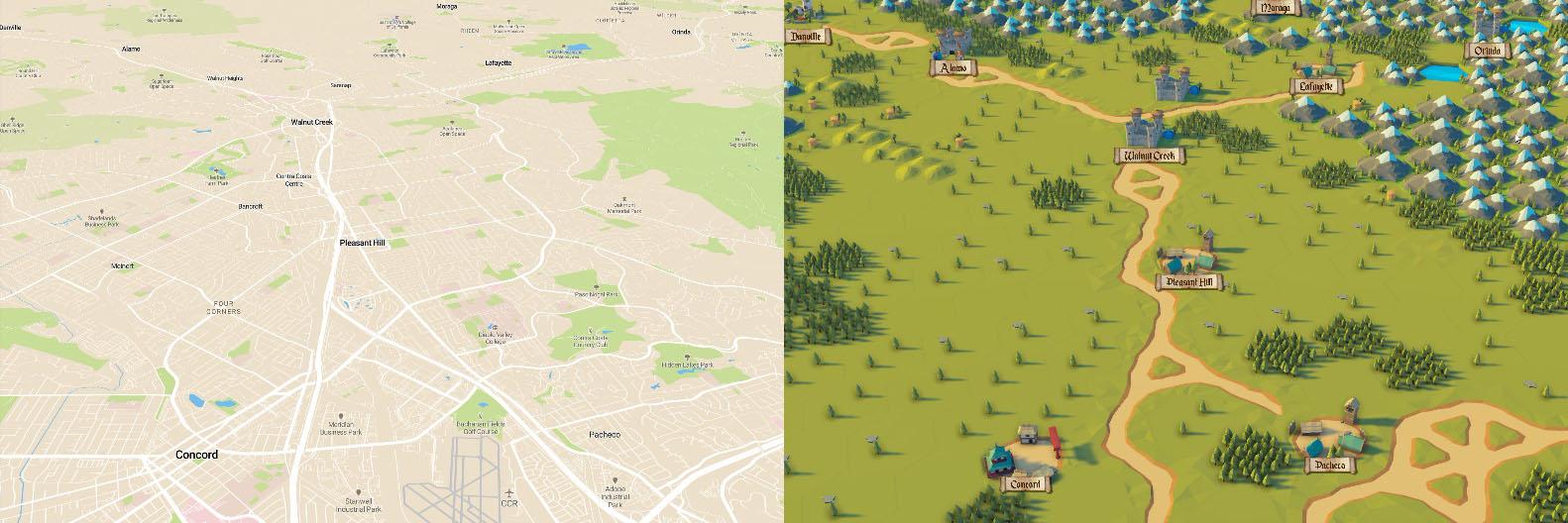 Tiled Maps using Mapbox | brnkhy - Unity3D Game Development