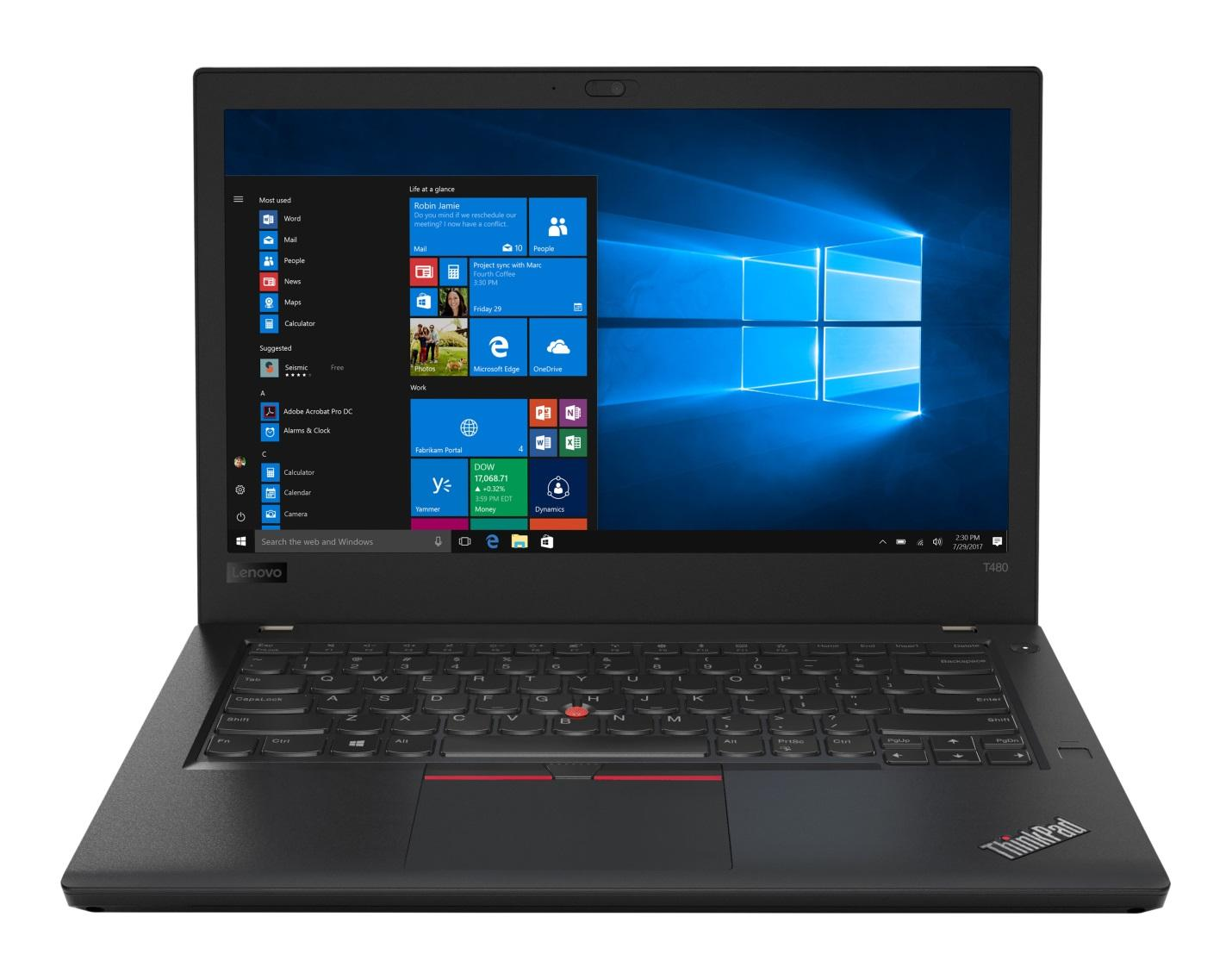 Фото 3. Ноутбук ThinkPad T480 (20L50004RT)