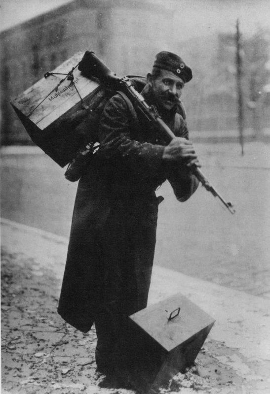 """Німецький """"дембель"""" із Східного фронту. Кінець 1918-го - початок 1919-го"""