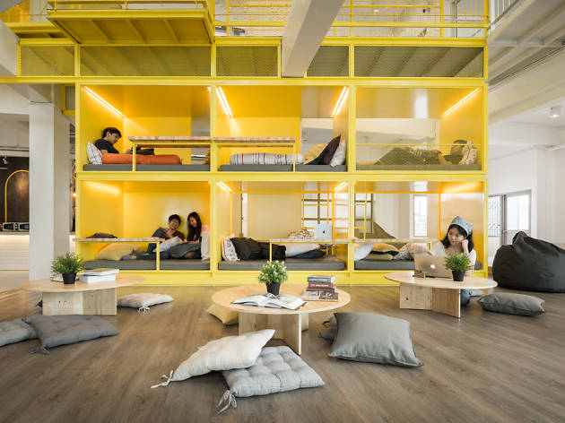 aree riposo e pisolino in coworking