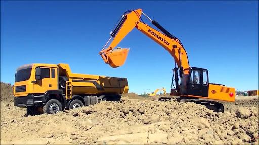 Máy xúc đào được ứng dụng trong nhiều ngành nghề