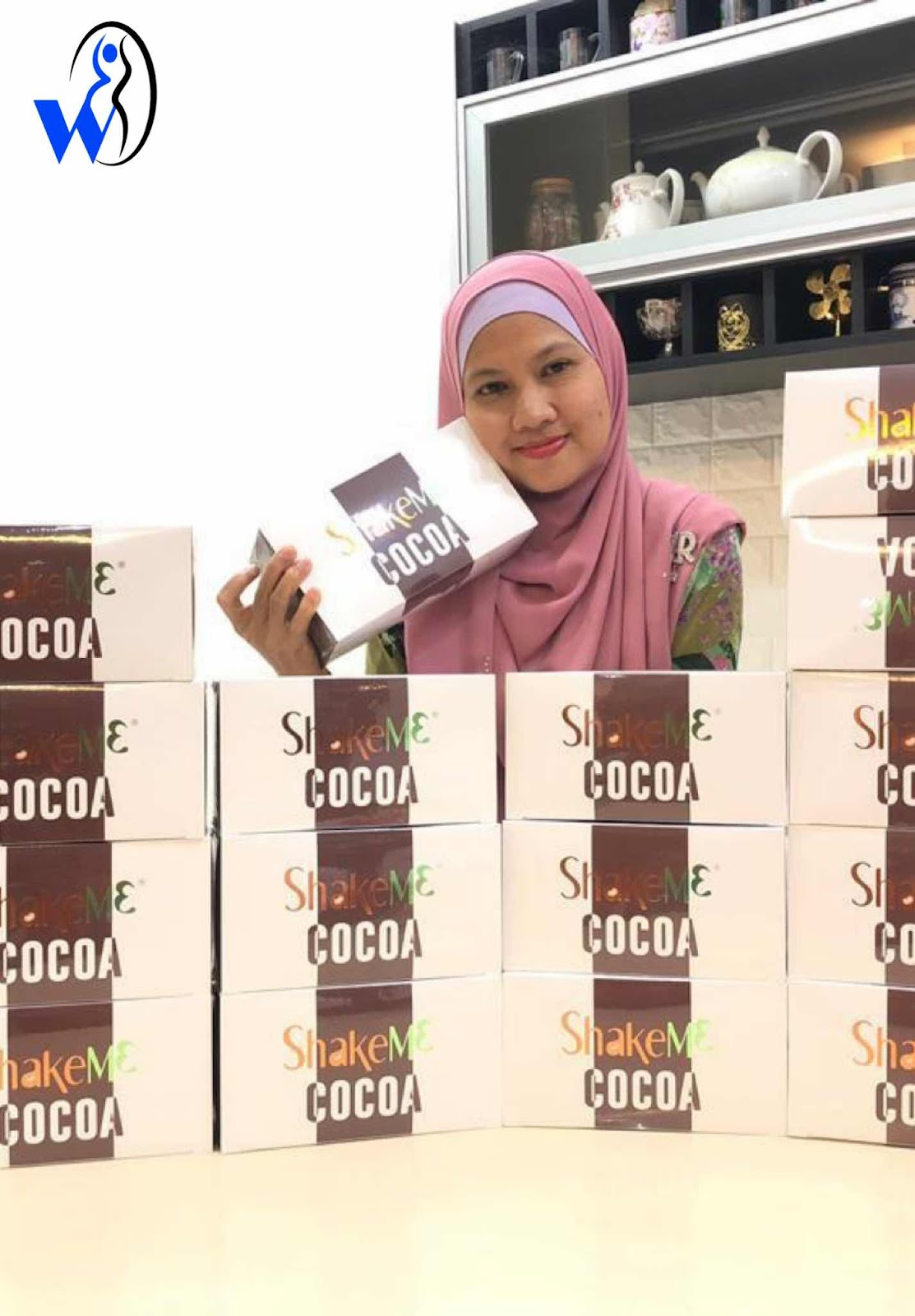 shake me cocoa_ premium beautiful murah