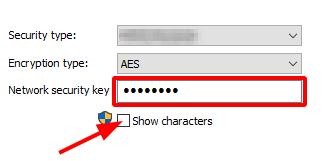 Find Network Security Key on Windows 10.  Wi-Fi Status > Network Security Key. Source: nudesystems.com