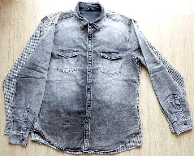 hacer la camisa más pequeña